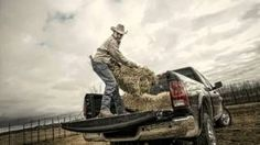"Dodge Ram Trucks Super Bowl Commercial Farmer - God Made A Farmer.....reminds me of ""don't forget to wear sunscreen"""