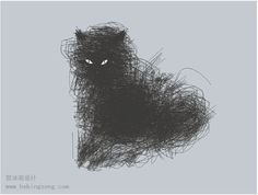 Cat drawing... more than a beautiful scribble!