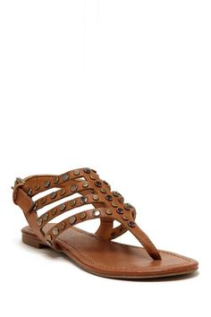 Pompeii Studded Thong Sandal by Rebels on @HauteLook