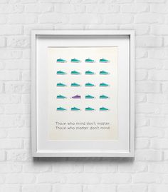 Wall Art Office Print Typographic Poster Design Home by GulfRoad