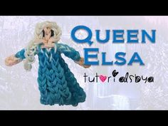 {Disney Princess Series} Queen Elsa Figurine/Action Figure Rainbow Loom Tutorial