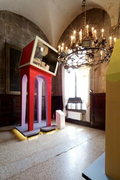 """A Look into Jimenez Lai's """"Urban Interior"""" for Taiwan's Pavilion in the 2014 #VeniceBiennale"""