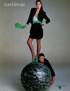 Christy Turlington by Richard Avedon - Versace 1987
