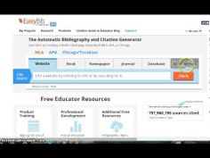 Manually Entering Citations - YouTube