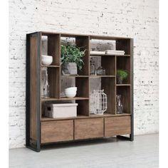 d-Bodhi boekenkast Fendy laag 150x150x35 cm
