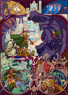 Lord of the Rings stained glass: I am no man by *breathing2004 on deviantART