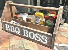 diy wood bbq caddy, crafts, how to, storage ideas, woodworking projects #woodworkingplans  #WoodworkPlans