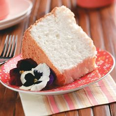 Heavenly Angel Food Cake Recipe -This light, moist cake is my favorite. It tastes heavenly and is special enough for most any occasion. —Fayrene De Koker, Vancouver, Washington