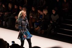 Mercedes-Benz Fashion Week Marcel Ostertag Show mit Model Franziska Knuppe