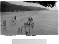 Bathing at Dromana 1910s