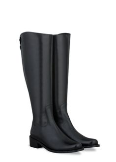 Seymour Black Leather womens-boots list