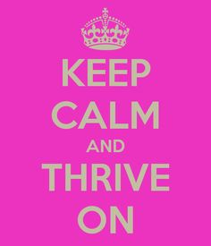 With the Christmas Hustle and Bustle remember to Keep Calm and Thrive On!! http://khamby.le-vel.com