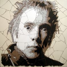 Ed Chapman, one of the U.K.'s leading mosaic artists, uses everyday objects such as guitar picks, coins, glass, tile fragments and even sugar cubes to create tr...