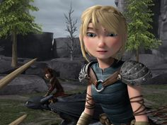 Astrid Hofferson :this girl is something all her own