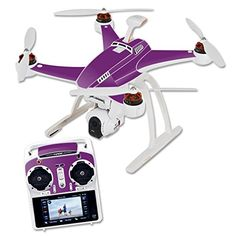 MightySkins Protective Vinyl Skin Decal for Blade Chroma Quadcopter Drone wrap cover sticker skins Solid Purple -- Continue to the product at the image link. Note: It's an affiliate link to Amazon