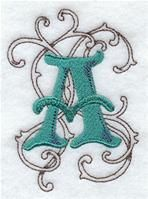 Machine Embroidery Designs at Embroidery Library! - A Wild Side Alphabet Design Pack (4 Inch Height)