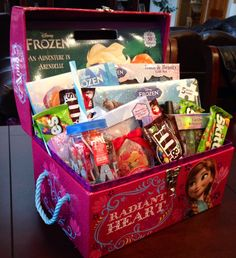4-6 year old girl gift basket