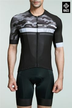 Athletic fit good ventilation unique cycling jersey with great materials and workmanship. Light, breathable and comfortable men's cycling jersey 2017 new design online sale. Unique Cycling Jerseys, Cycling Bikes, Road Cycling, Bmx Bicycle, Road Bikes, Sexy Outfits, Mtb, Triathlon Clothing, Cycling Clothing