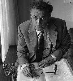 El cineasta Federico Fellini. (Foto: EFE)