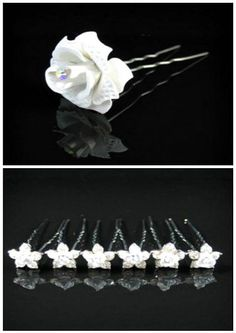 Inspiración: Accesorios para el cabello de la novia [Galería]