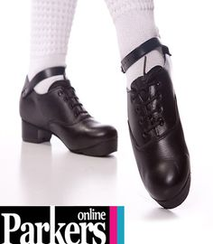 Brand New Leather Irish Heavies Super Flexi Black Jig Shoes Antonio Pacelli   eBay