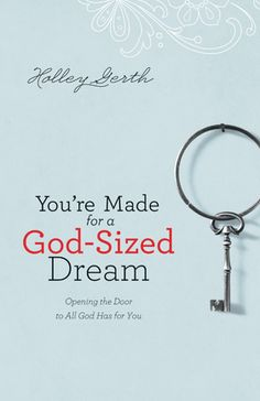 You're made for a God-sized dream! Thought yours got buried mom? Think again! Grab this book today!