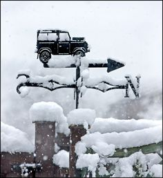 | Land Rovers Only |  weather vane in my garden           Explore# 259
