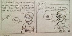 non-binary comic by Melanie Gillman