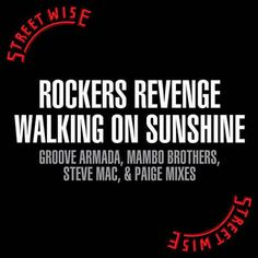 Found Walking On Sunshine by Rockers Revenge with Shazam, have a listen: http://www.shazam.com/discover/track/323486