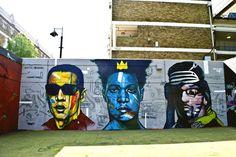 Dondi, Basquiat, Rammellzee by REMI/ ROUGH 201