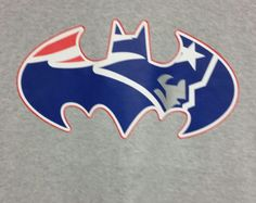 Batman Inspired New England Patriots Long Sleeve by TShirtCrazy Go Pats, Hooded Sweatshirts, Hoodies, Patriotic Shirts, New England Patriots, Football Players, Cool Gifts, Batman, Long Sleeve