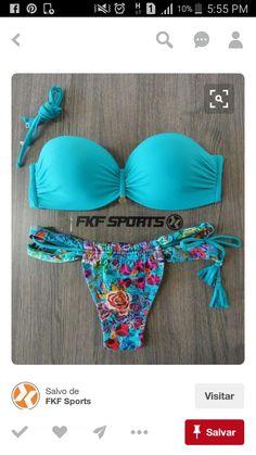 Buy Scalloped Bandeau Swimsuit Strapless Two Piece Bathing Suit Curvy Swimwear, Luxury Swimwear, Cute Swimsuits, Cute Bikinis, Strapless Swimsuit, Bandeau Swimsuit, Bikini Beach, Bikini Set, Crop Top Bikini