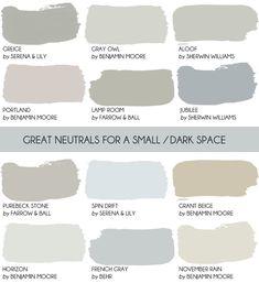 Design Mistake Painting a Small, Dark Room White - Emily Henderson Best Paint Colors, Bedroom Paint Colors, Paint Colors For Living Room, Paint Colours, Room Colors, Neutral Bedrooms, Gray Bedroom, Master Bedroom, Trendy Bedroom