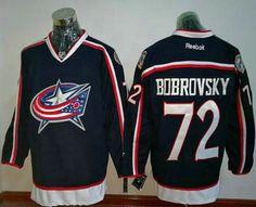 Blue Jackets Sergei Bobrovsky Navy Blue Home Stitched NHL Jersey fb0238980