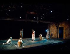 Woyzeck. The Clarence Brown Theatre. Scenic design by Christopher Pickart. 2010