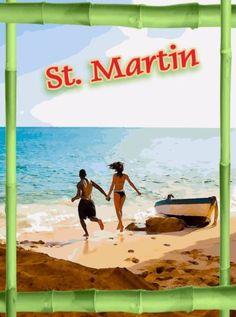 St-Maarten-St-Martin-Caribbean-Island-Islands-Travel-Advertisement-Poster-Art