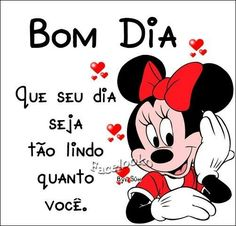 Bom dia Good Afternoon, Good Morning, Portuguese Quotes, Princesas Disney, Mickey Mouse, Disney Characters, Fictional Characters, Geek Stuff, Messages