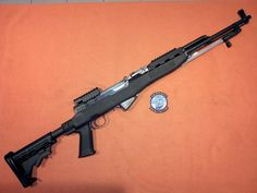 SKS Simonov 7,62 × 39mm rifle with tactical Tapco stock