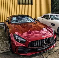 AMG GT R - chrome candy apple red