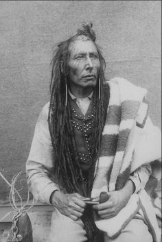 Cree Chief Poundmaker  1885, by Oliver Buell