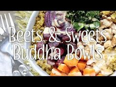Sometimes called a Hippie Bowl or a Glory Bowl, a Buddha Bowl is basically just a giant bowl filled with hearty, nutritious, vibrantly colored yumminess. Roasted veggies, kale and quinoa topped with creamy balsamic dressing make this blissful bowl a thing of beauty!