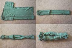 How to bleach tie dye!