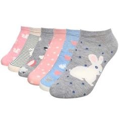 Bundle Monster Womens 6 Pairs Low Cut Mix Style Cotton Blend Socks - Cuddly Cute (Pack of 12), Women's