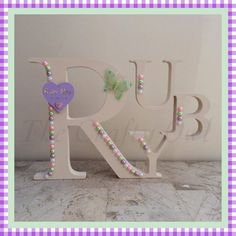 Name Letters, 3 Letter, Hand Painted, Colours, Lettering, Facebook, Painting, Painting Art, Drawing Letters