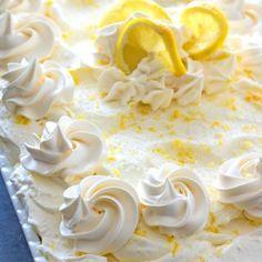 Lemon Burst Poke Cake - melissassouthernstylekitchen.com