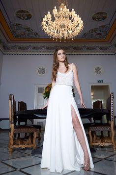 Wedding gown by Arava Polak