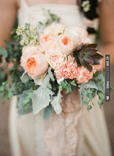 vintage wedding bouquet / Marcie Meredith Photography | CHECK OUT MORE IDEAS AT WEDDINGPINS.NET | #weddings #weddingflowers #weddingbouquets #bouquets