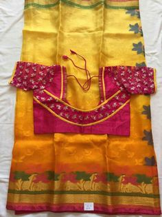 Super Pattu Saree Blouse Designs, Blouse Designs Silk, Designer Blouse Patterns, Bridal Blouse Designs, Patch Work Blouse Designs, Simple Blouse Designs, Stylish Blouse Design, Chudidhar Neck Designs, Sarees