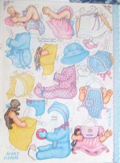 Paper Dolls 2 Clothes Page 4  #paperdolls