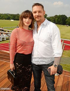 News Photo : Charlotte Riley and Tom Hardy attend day one of...